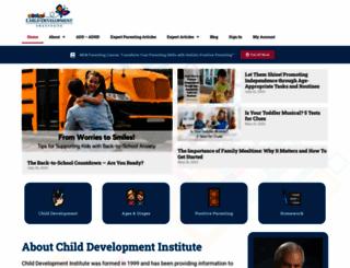 childdevelopmentinfo.com screenshot