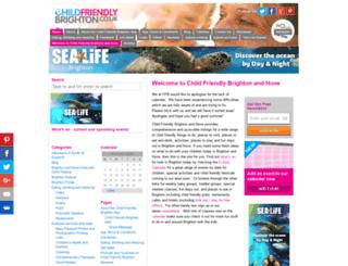 childfriendlybrighton.co.uk screenshot