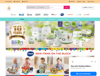 childhoodbasic.com screenshot