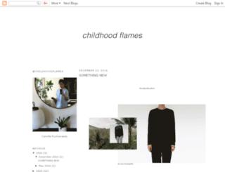 childhoodflames.blogspot.com screenshot