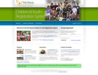 children.fairhavens.org screenshot