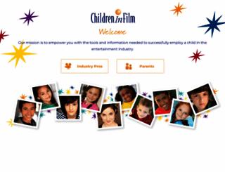 childreninfilm.com screenshot