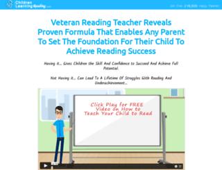 childrenlearningreading.com screenshot
