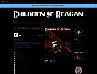 childrenofreagan.bandcamp.com screenshot