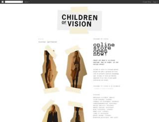 childrenofvision.blogspot.com screenshot