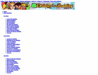 childrens-bedding-direct.co.uk screenshot
