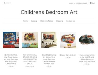 childrensbedroomart.com screenshot