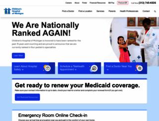 childrensdmc.org screenshot