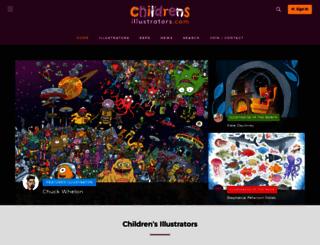 childrensillustrators.com screenshot