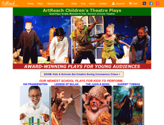 childrenstheatre.storesecured.com screenshot