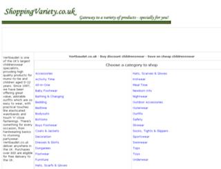 childrenswear-online.shoppingvariety.co.uk screenshot