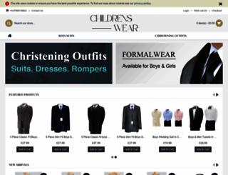 childrenswear.co.uk screenshot