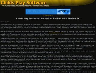 childs-play-software.com screenshot