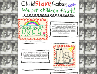 childslavelabor.com screenshot