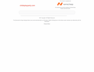 childsplayparty.com screenshot