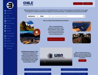 chilebusinessguide.com screenshot