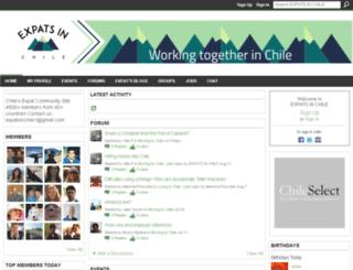 chileconnection.ning.com screenshot