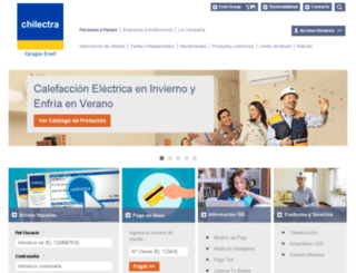 chilectra-digital.cl screenshot