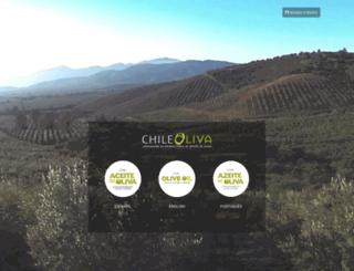 chileoliveoil.cl screenshot