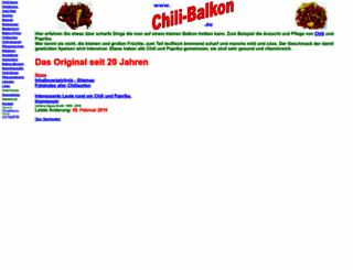 chili-balkon.de screenshot