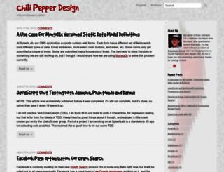 chilipepperdesign.com screenshot