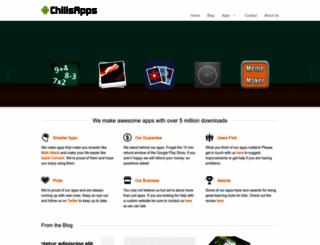 chilisapps.com screenshot