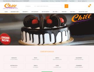 chillbakes.com screenshot