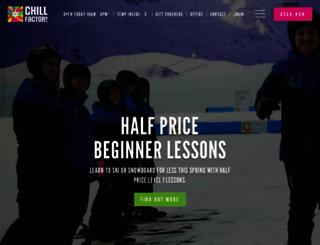 chillfactore.com screenshot