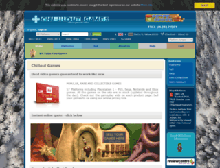 chilloutgames.co.uk screenshot
