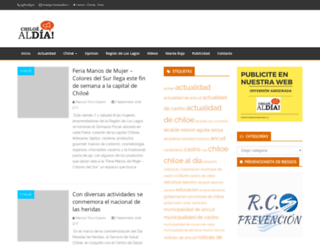 chiloealdia.cl screenshot