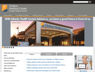 chiltonmemorial.org screenshot