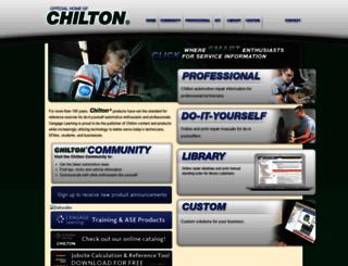 chiltonsonline.com screenshot