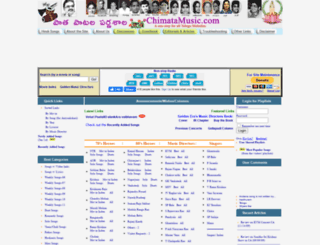 chimatamusic.com screenshot