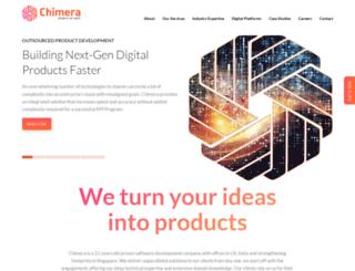 chimeratechnologies.com screenshot
