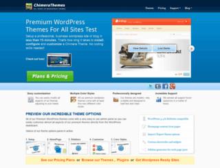 chimerathemes.com screenshot