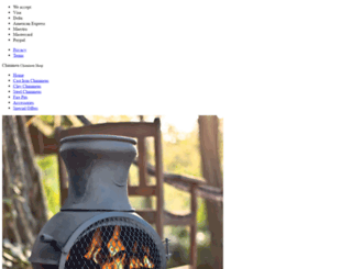chiminea.org.uk screenshot