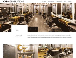 chin-generation.com screenshot