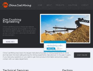 china-coal-mining.com screenshot