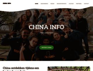 china-info.nl screenshot