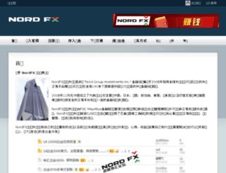 china-nordfx.com screenshot