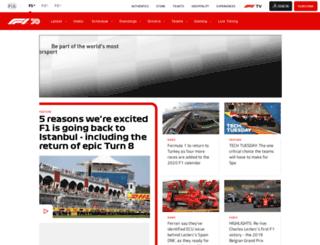 china.formula1.com screenshot