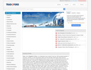 china.tradeford.com screenshot