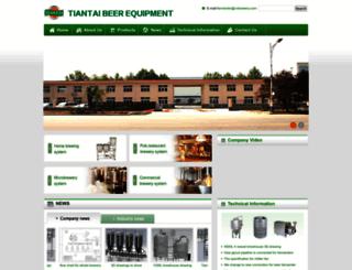 chinabeerequipment.com screenshot