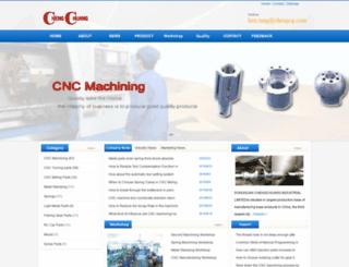 chinacncmachining.net screenshot