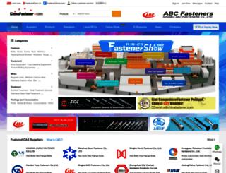 chinafastener.com screenshot