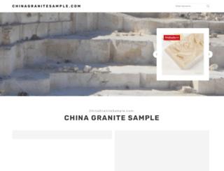 chinagranitesample.com screenshot