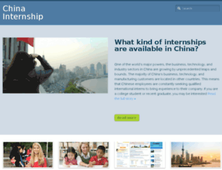 chinainternship.net screenshot