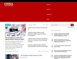chinalawandpractice.com screenshot