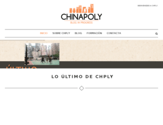 chinapoly.es screenshot
