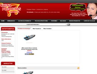 chinaprodutosimportados.com screenshot